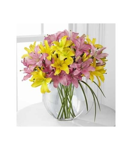 Photo of flowers: The FTD Lilies & More Bouquet