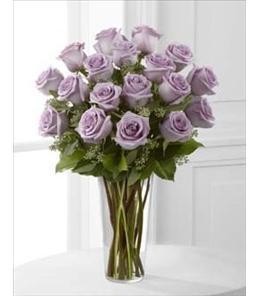 Photo of Lavender Roses in Vase - E3-4811