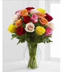 Photo of Enchanting Mixed Rose Vase - E4-4820