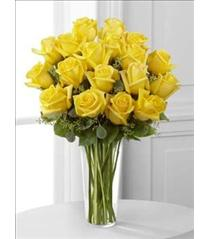 Photo of flowers: The FTD Yellow Rose Bouquet
