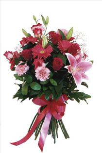 Photo of Bouquet of Mixed Cut Flowers - IC-2004