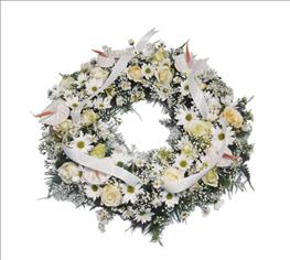 Photo of Wreath All White - IC-225