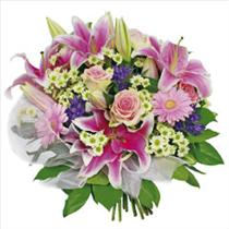 Photo of Bouquet of Seasonal Flowers - IC-3117