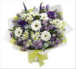 Photo of Blue and White Hand-tied - 500081