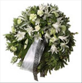 Photo of Wreath with Ribbon - IC-508