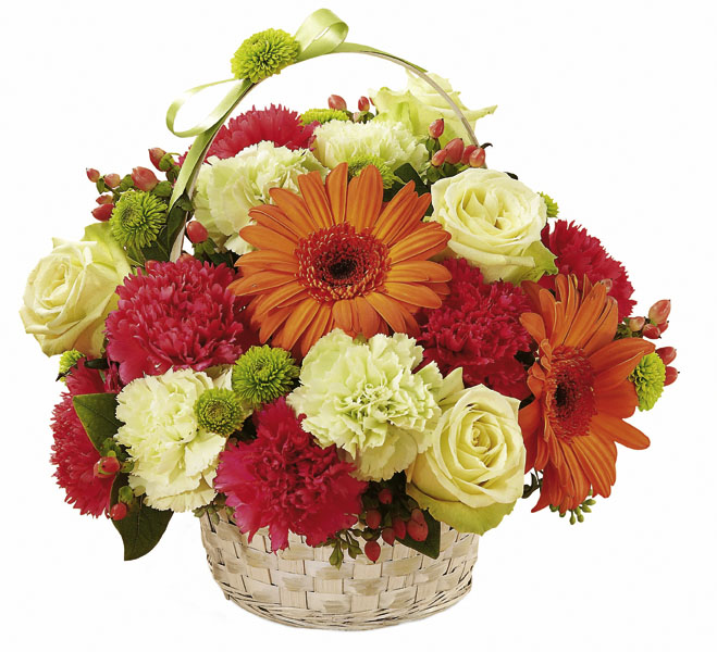 Photo of flowers: Best Year Basket