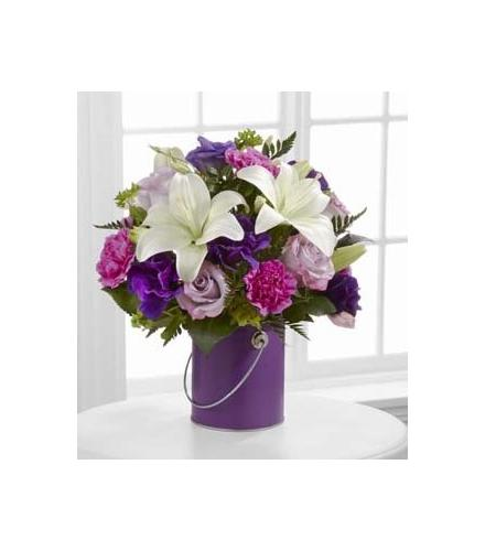 Photo of flowers: Color Your Day With Beauty Purple