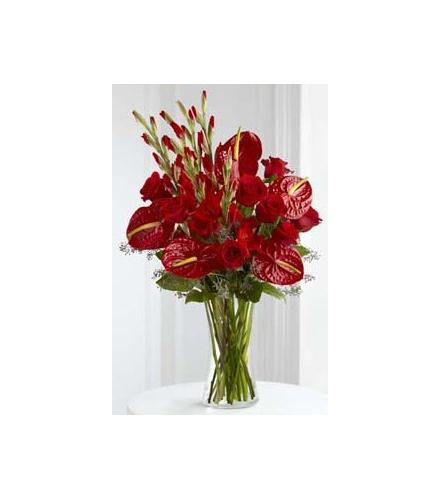 Photo of flowers: We Fondly Remember Vase Bouquet
