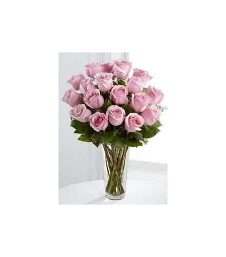 Photo of flowers: The Pink Rose Bouquet Vased