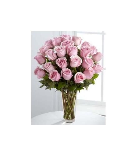 Photo of flowers: The Pink Rose Bouquet 12, 18 or 24.