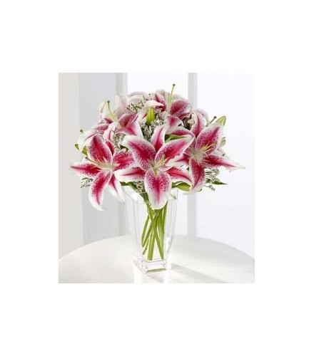 Photo of flowers: Pink Stargazer Lily Bouquet