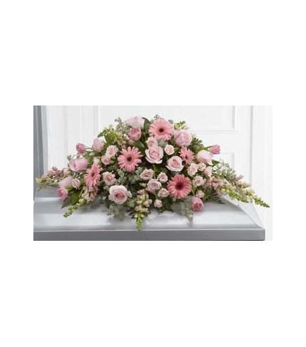 Photo of flowers: Sweet Farewell Casket Spray