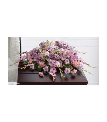 Photo of flowers: Immorata Casket Spray