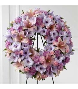 Photo of Sleep in Peace Wreath - S29-4502