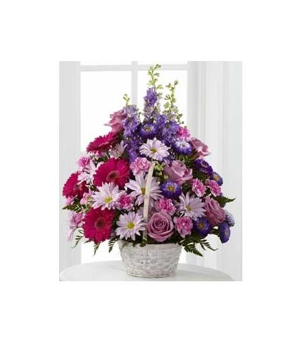 Photo of flowers: Pastel Peace Basket