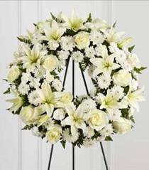 Photo of The FTD Treasured Tribute Wreath - S3-4442