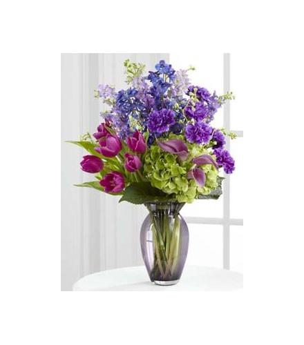 Photo of flowers: Always Remembered Vase Bouquet