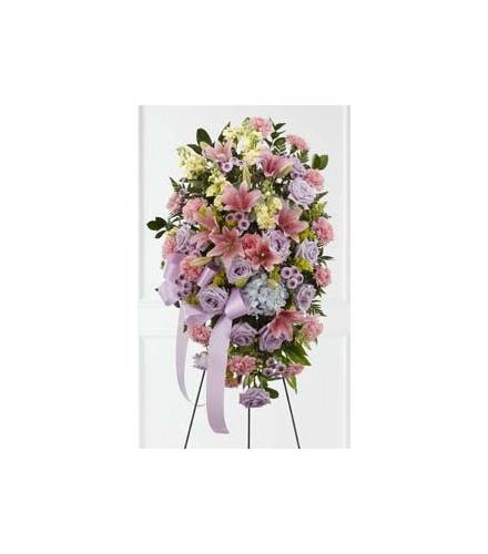 Photo of flowers: Blessings of the Earth Easel Spray