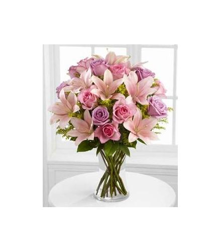 Photo of flowers: Farewell Too Soon Vase Bouquet