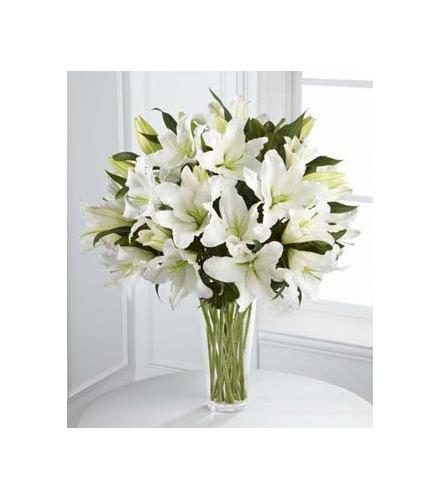 Photo of flowers: Light In Your Honor Oriental Lilies