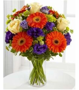 Photo of Rays of Solace Vase Bouquet - S40-4529