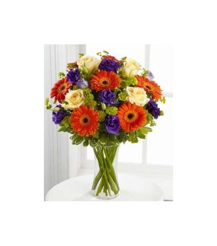 Photo of flowers: Rays of Solace Vase Bouquet