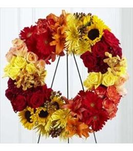 Photo of Rural Beauty Wreath by FTD. - S42-4536