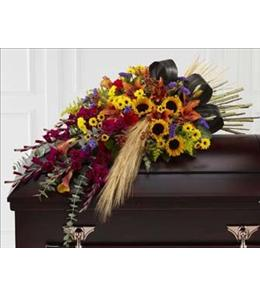 Photo of Casket Spray Glorious Garden by FTD  - S43-4537