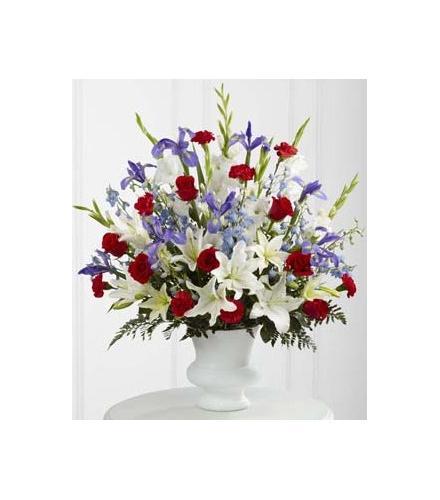 Photo of flowers: Cherished Farewell Arrangement