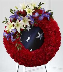 Photo of The FTD To Honor One's Country Wreath - S45-4546