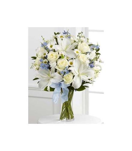 Photo of flowers: Sweet Peace Vase Bouquet