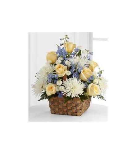 Photo of flowers: Heavenly Scented Basket D48-4551