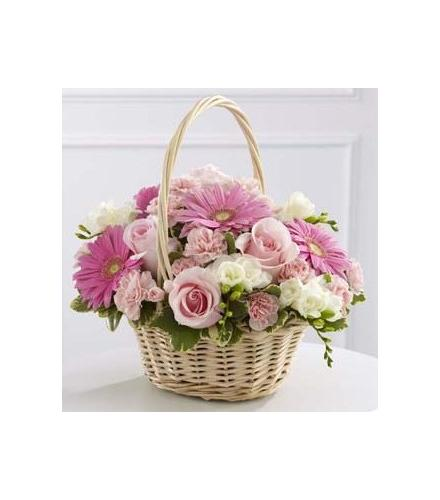 Photo of flowers: Enduring Peace Basket