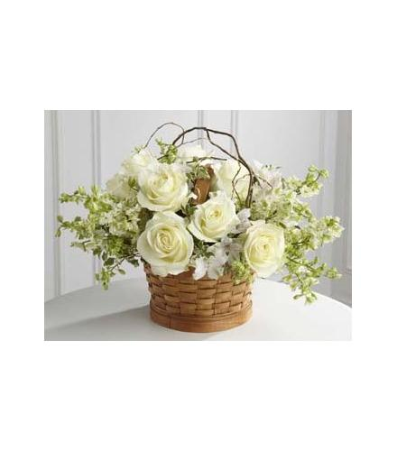 Photo of flowers:  Peaceful Garden Basket