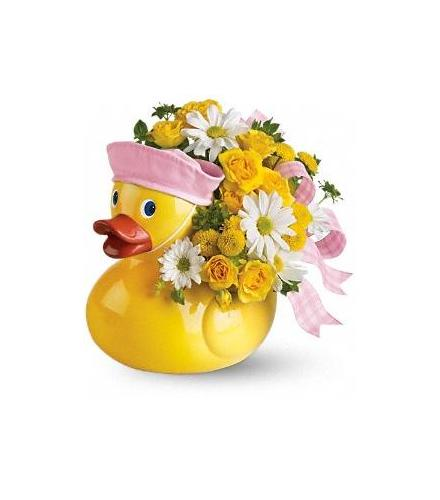 Photo of flowers: Ducky Delight - Girl