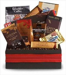 Photo of Luxurious Indulgence Gift Basket - T108-3