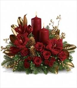 Photo of Candlelit Christmas Teleflora T113-1 - T113-1