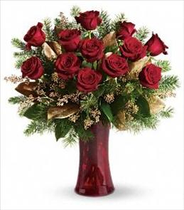 Photo of Christmas Roses Teleflora T115-2 - T115-2