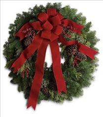 Photo of Classic Holiday Wreath - T129-1