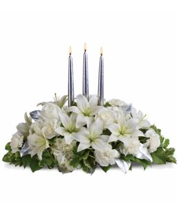 Photo of Silver Elegance Centerpiece - T132-1