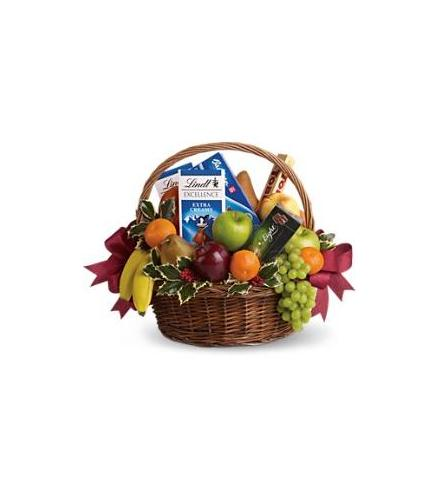 Photo of flowers: Fruits and Sweets Basket
