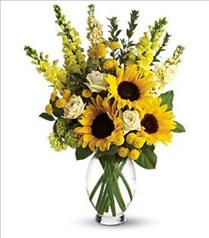 Photo of Here Comes The Sun Flowers by Teleflora - T152-1