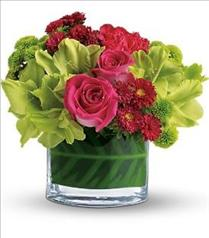 Photo of Beauty Secret in Vase with Roses  - T159-2