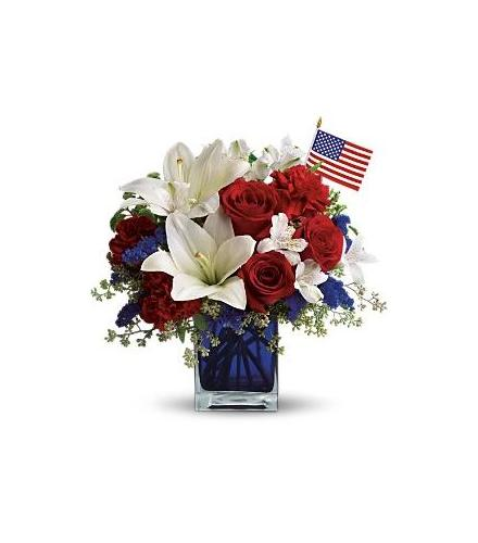 Photo of flowers: America the Beautiful