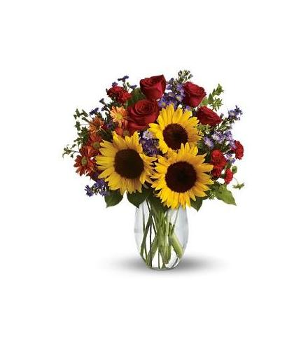 Photo of flowers: Sunflowers Pure Happiness