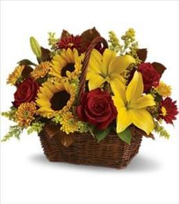 Photo of flowers: Golden Days Basket