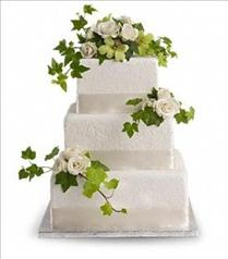 Photo of Roses and Ivy Cake Decoration - T185-3