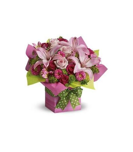 Photo of flowers: Pretty Pink Present
