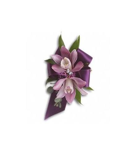 Photo of flowers: Exquisite Orchid Wristlet