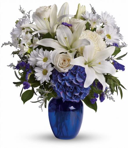 Photo of flowers: Beautiful in Blue